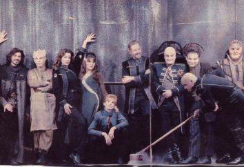 """Ruoli e attori: """"Babylon 5"""". Foto di attori nel trucco e senza"""