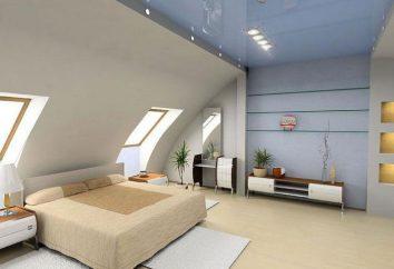 Camera da letto nel sottotetto: idee progettuali
