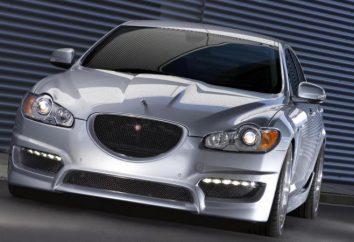 « Jaguar XF»: spécifications, test drive, photos et commentaires des propriétaires de voiture