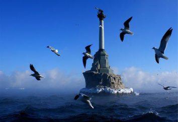 Pomnik zatopionych okrętów w Sewastopolu (foto)