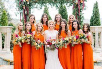 Pomarańczowy Ślub: Tworzenie, zdjęcia i pomysły