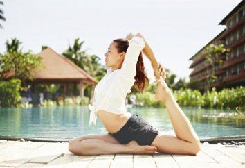Quelle est la femme de penser à faire du yoga?