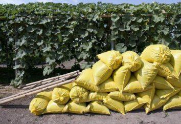 fertilizzante organico: descrizione, istruzioni per l'uso e il feedback