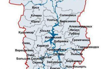 Miasto Perm Region: lista atrakcji turystycznych. Berezniki