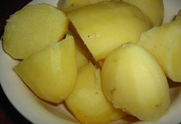 Zastanawiasz się, ile kalorii w gotowanym ziemniakiem?