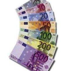Quais são as classificações de notas de euro?