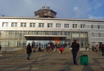 Juschno-Sachalinsk Flughafen im Fernen Osten