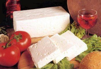 Salade de fromage feta: rapidement, tout simplement délicieux!