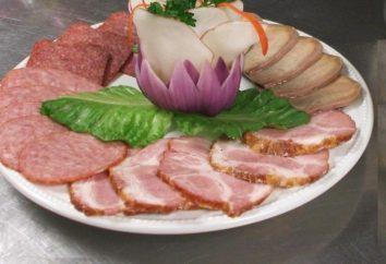 Découpe de viande – décoration de table