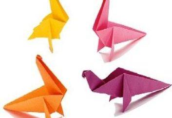 Jak zrobić dinozaura z papieru: dwa sposoby
