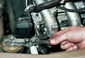 VAZ-2114, capteur d'arbre à cames: dispositif, principe de fonctionnement et dysfonctionnements possibles