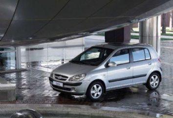 Hyundai Getz – spécifications techniques, la conception et le prix