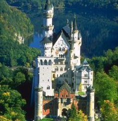 Bavaria – viste. Palazzi e castelli della Baviera
