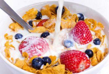 Farina d'avena con latte di frutta. Benefici e rischi