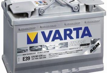 """batteries de voiture, """"Warta"""": avis. Batterie « Varta »: caractéristiques, prix"""