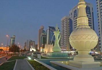 Abu Dhabi è dove? Abu Dhabi sulla mappa