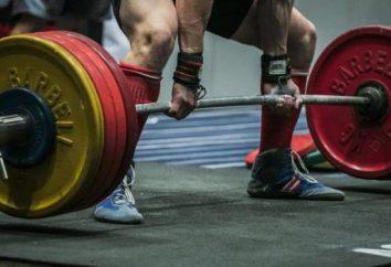 Gewichtheben: Übung und Training