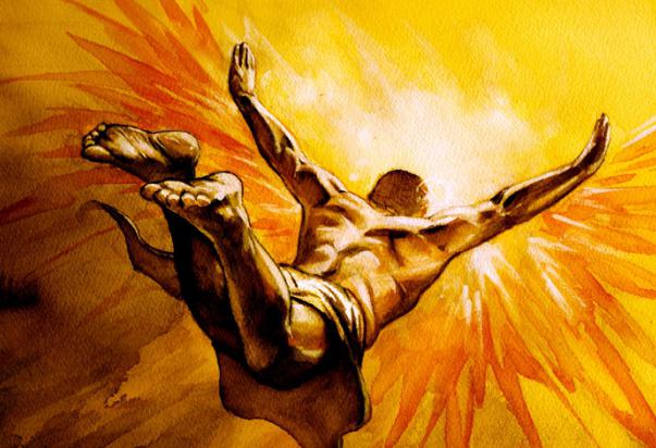 Famous Icarus Painting