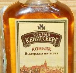 """Cognac """"Old Kenigsberg': charakteristisch für die Produkt- und Verbraucher Bewertungen"""
