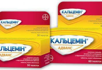 """Witaminy """"Calcemin Zaawansowane"""": opinie, instrukcje użytkowania i oznaczeń"""