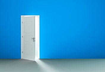 Porte gauche et droite: comment déterminer l'ouverture de la porte