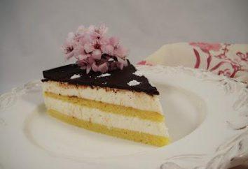 Creme Griess-Kuchen. Wie Vanillesoße mit Grieß machen?