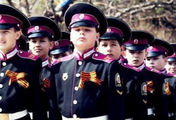 ¿Qué ciudad tiene la Escuela de Cadetes Boys' con un alojamiento? Escuela de Cadetes de las niñas en Moscú