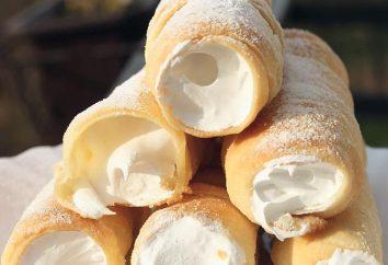 Cómo hacer deliciosos rollos de crema de hojaldre y proteínas?