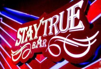 Bar w Moskwie Stay True Bar: adres, menu