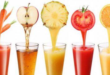 Ciò che è diverso dal succo di nettare: proprietà utili di bevande e le loro differenze