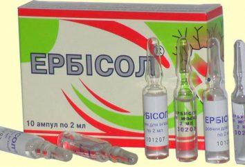 """""""Erbisol"""": instrukcje użytkowania, odpowiedniki prawdziwe świadectwo. Leki stosowane w celu zwiększenia odporności na dorosłych"""
