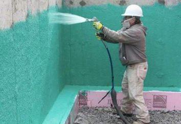 impermeabilização da superfície
