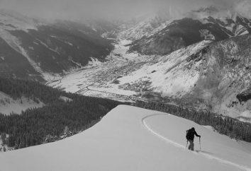 Ski alpin et course sprint planification en course d'orientation