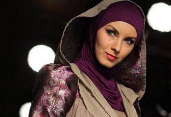 Wie man einen Schal in Muslime binden