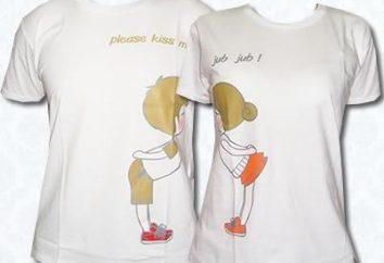 No oculte sus sentimientos! Usar camisetas para dos!