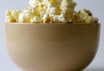 Cucinare popcorn a casa nel forno a microonde e in padella