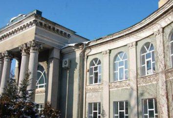 Stavropol Stato Istituto Pedagogico, Dipartimento di