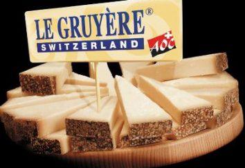 Gruyere – queijo, que é o orgulho da Suíça