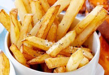 Patatine fritte in una padella – veloce e gustoso