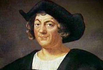 """Os navios de Columbo: o título, descrição. Navio de Colombo 'Santa Maria'. """"Niña"""" navio Hristofora Kolumba"""