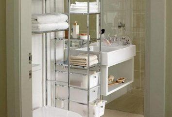 Competente baño de planificación: cómo aumentar el espacio útil?
