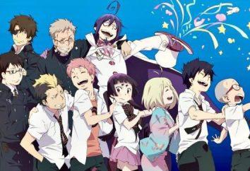"""Anime """"Blue Exorcist"""": caratteri. """"Blue Exorcist"""": le foto, i nomi dei personaggi principali"""