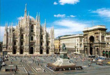 Le famose attrazioni di Milano