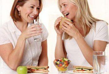 Pourquoi ne peut pas se laver vers le bas repas? Que boire pendant le repas?
