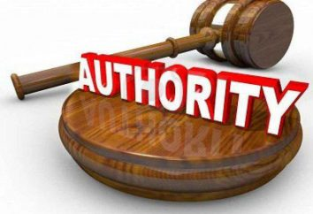 System der Behörden. Funktionen, Rechte, Befugnisse, Tätigkeiten von Regierungsstellen