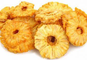 Calorie getrocknete Ananas: Die Vorteile und Nachteile
