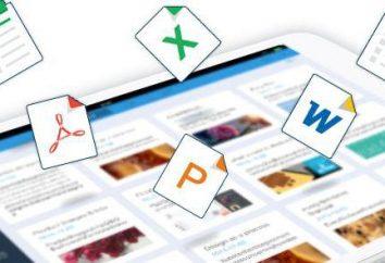 Program do obróbki dokumentów biurowych typu: przegląd