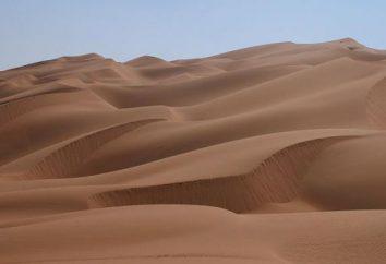 Désert et semi-désertique: le sol, le climat, la faune