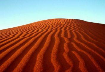 Où est désert de Victoria? Désert Victoria: description, photo