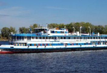 """""""Bułgaria"""" statek. Wrak statku """"Bułgaria"""" w Kujbyszewie Reservoir"""